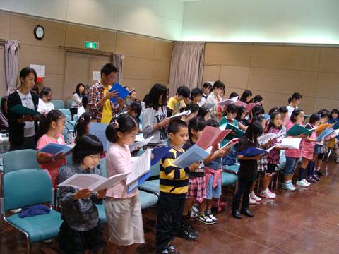 子ども合唱講座2011