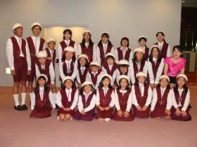 北区合唱祭にて/東京滝野川少年少女合唱団