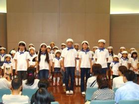 中学生による合唱