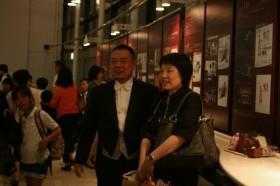 コスモスカイオーケストラ指揮者・田中亮先生と菱木先生