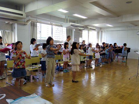 合唱講座初日2恋ダンス